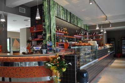 Bar Ristorante dell'Hotel vicino alla cettà della Domenica