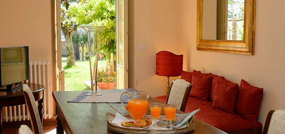 Suite esclusiva 6persone con salone e giardino Perugia