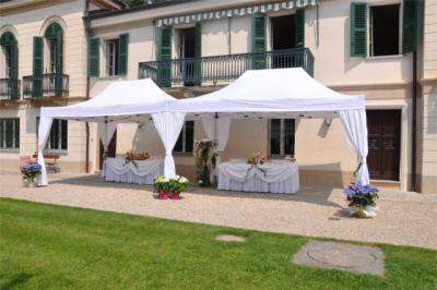 Gazebo rinforzato per fiere e mercartini