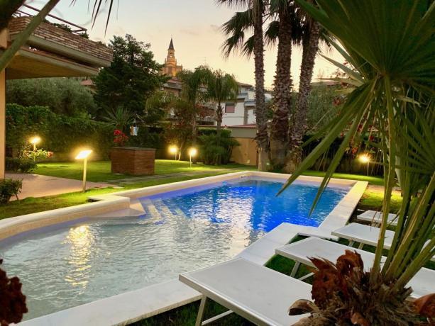 Villa con giardino e piscina a Trecastagni