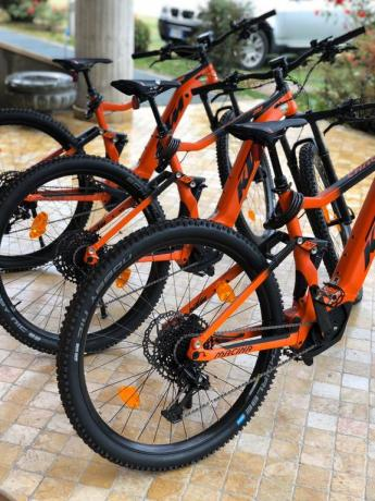 Hotel a Cascia con mountain Bike a disposizione