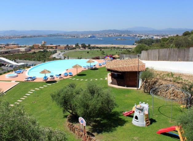 splendido hotel con piscina ad olbia