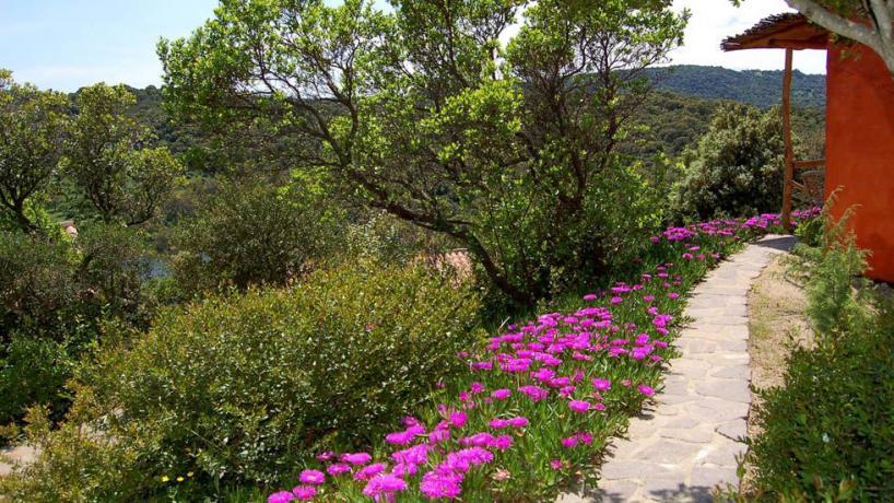 immerso nella natura Resort4stelle in Sardegna