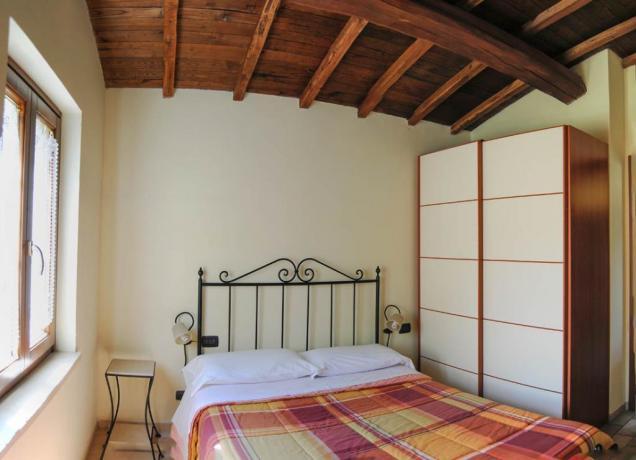 Camera matrimoniale appartamento vacanza Residence Piediluco