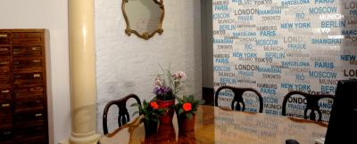 Reception del B&B Pavia