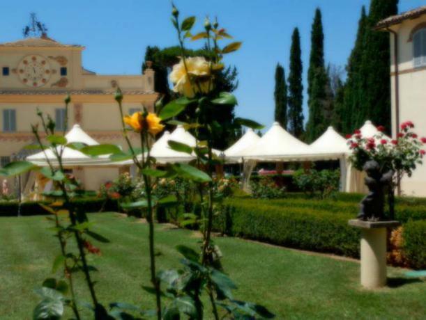 Villa per cerimonie in Umbria con piscina