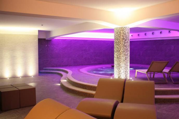 Elegante SPA in albergo a Fiuggi