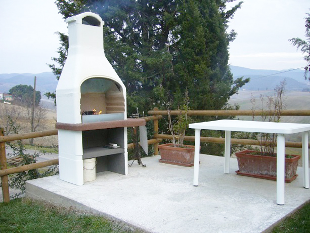 Area esterna con Barbecue