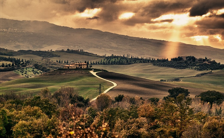 Panorama Chianciano Terme vicino all'Hotel****