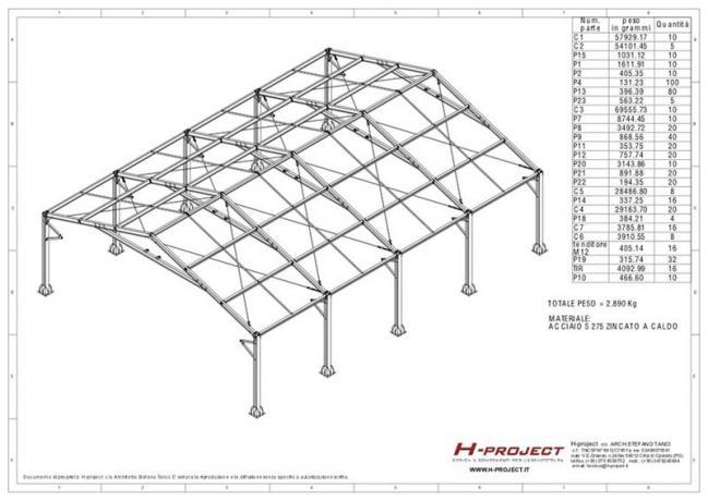 strutture prefabbricate in acciaio progettazione e fornitura