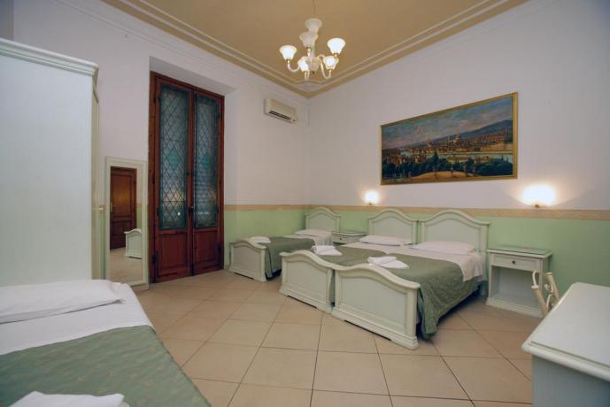 Ampie Camere Familiari con Colazione Firenze Centro