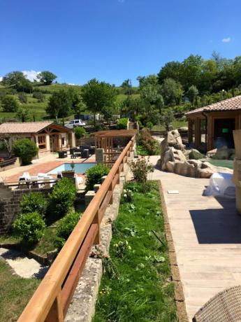 SPA del Resort Umbria con piscine esterne