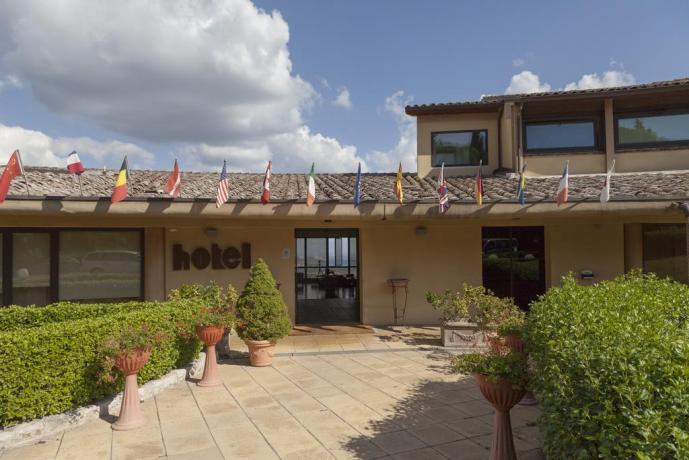 Ingresso Hotel La Terrazza
