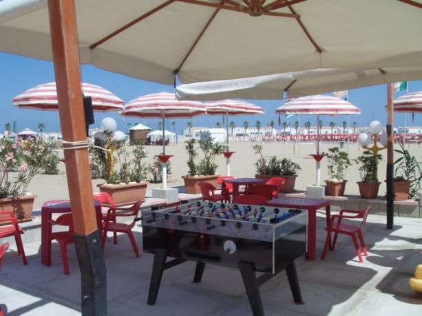 Spiaggia convenzionata con B&B a Rodi Garganico