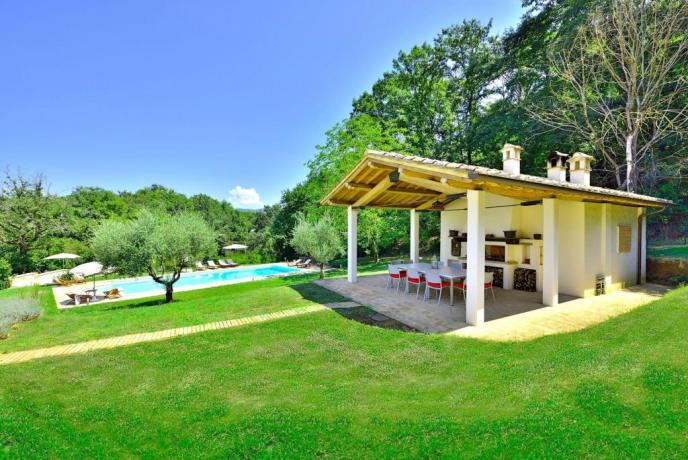 Casa con Piscina in Umbria