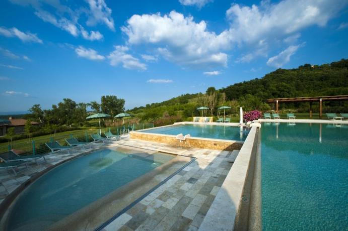 Casa vacanza con Piscina acqua salata in Toscana