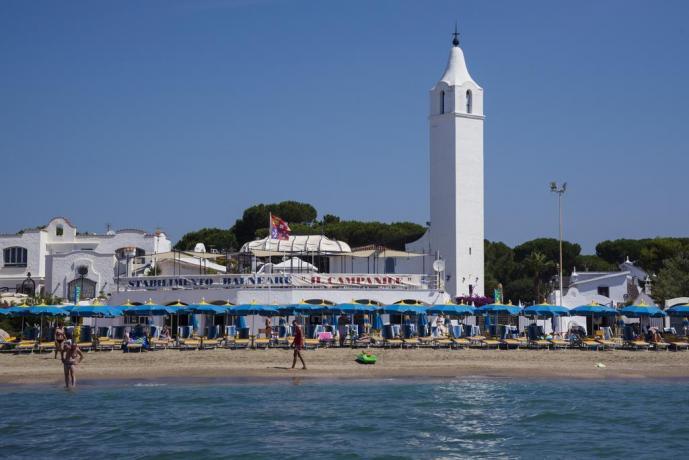 Spiaggia Convenzionata in Hotel 3 stelle