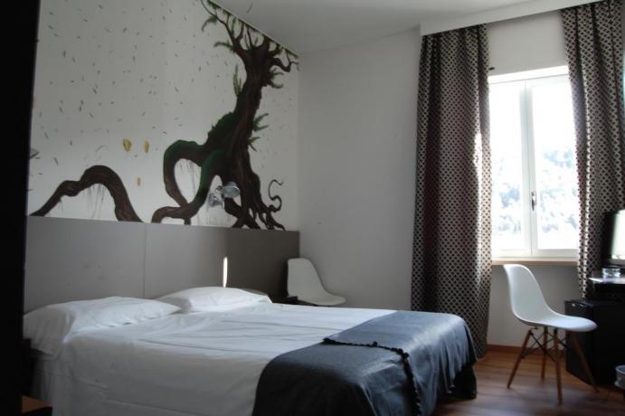 IN Umbria camere spaziose con bagno privato