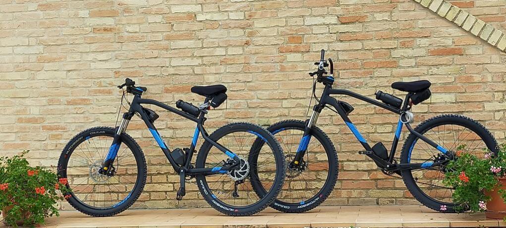 Noleggio mountain bike country-house Macerata