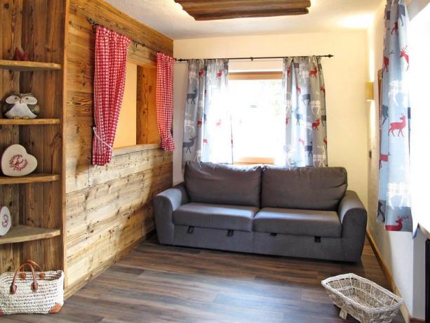 Appartamenti con divano letto a S.Vigilio