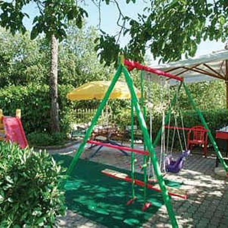 Parco giochi per bambini in Hotel ad Assisi