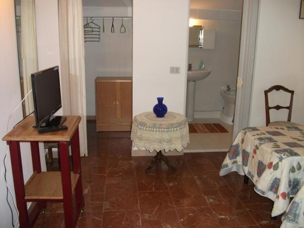 Bagno privato in camera B&B a Corciano