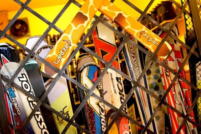 Noleggio attrezzatura da sci in hotel