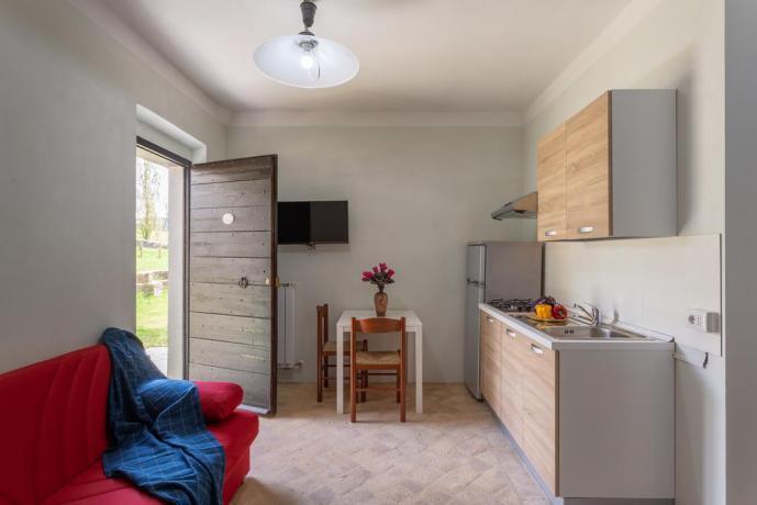 Appartamento Indipendente attrezzato con Biancheria-Cucina-Bagno