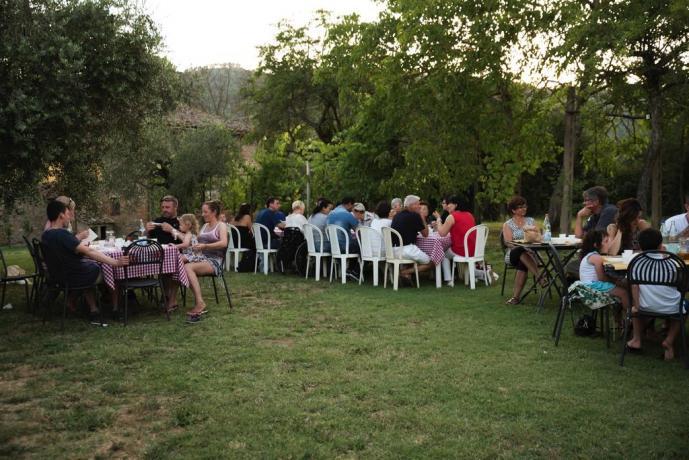 Agriturismo in Umbria ideale per cerimonie