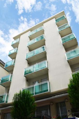 Appartamenti con balconi vista mare a Cattolica