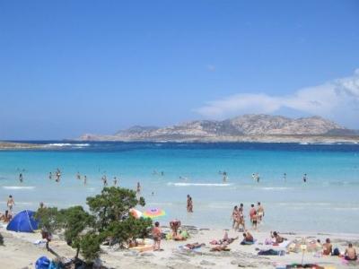 Asinara seen from Stintino