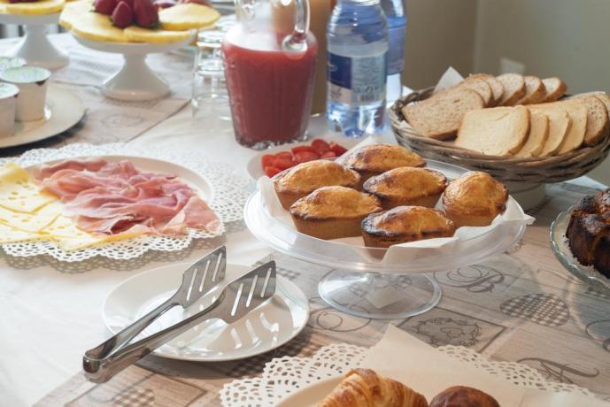 Villa B&B con colazione continentale