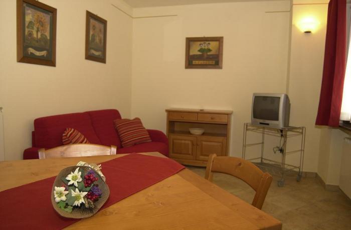 Soggiorno Appartamento Rododendro