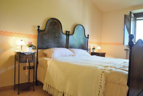 Camera da letto in Casolare Vacanza vicino Gubbio