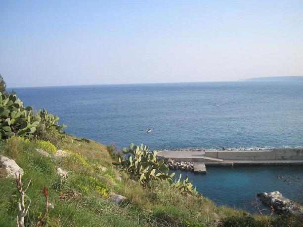 Castro Marina bellissimo mare in Puglia