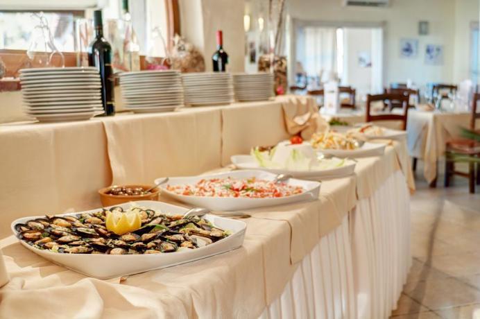 buffet o servizio al tavolo hotel smeraldo
