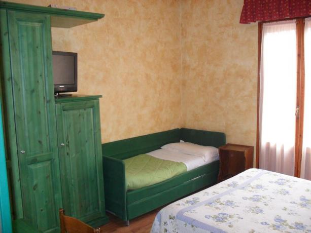 Camere in Hotel Emilia-Romagna con tv satellitare