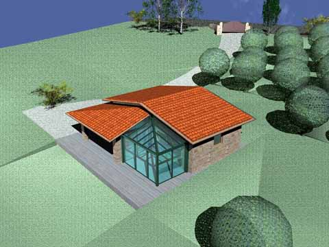 Casa prefabbricata in umbria e toscana sistema abitativo for Casa legno antisismica costo