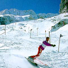Skiing in Italy, Sella Nevea, Province Udine