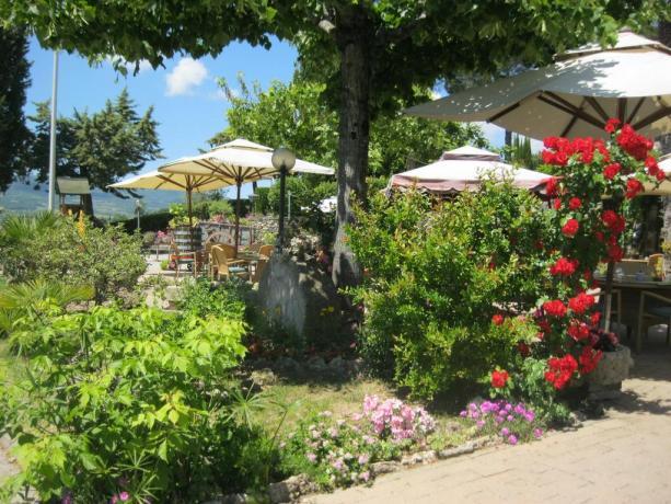 Giardino hotel vicino Chianciano Terme