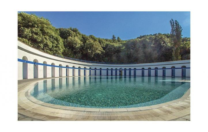 Piscina termale a San Lupo