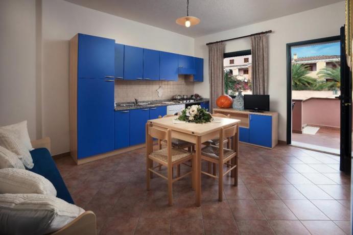 Appartamento Gli Oleandri con cucina vicino Cala Ginepro