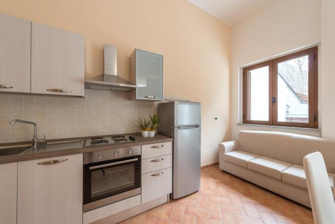 Appartamento con Angolo Cottura Trilocale in Montagna Abruzzo