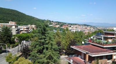 Vista dell'hotel di Chianciano terme