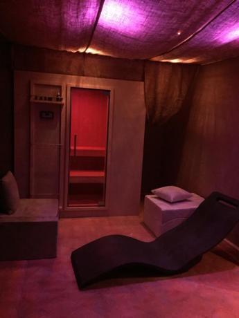 Area Relax con cromoterapia