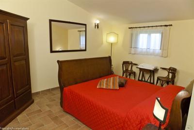 Appartamento Colombaccio, Camera da letto