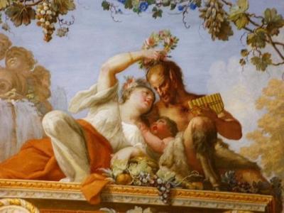 Fresco of the Castek of Caserta