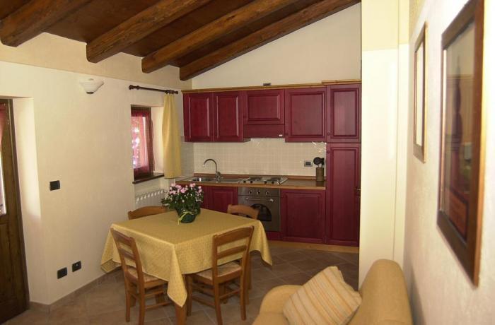Cucina Appartamento Rododendro