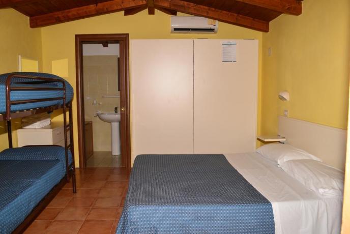 Camera familiare in Hotel a Palinuro