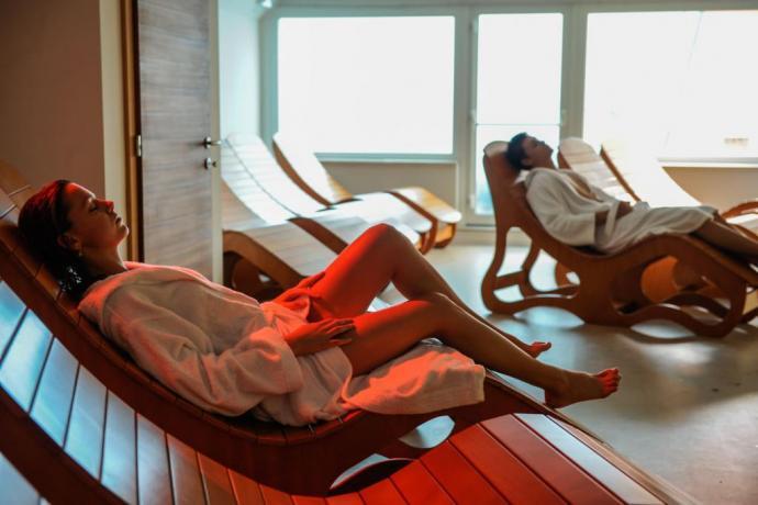 Sala relax vacanze a Lavarone-Trento hotel 3 stelle